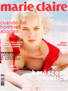 Bijou Phillips Marie Claire Magazine COver