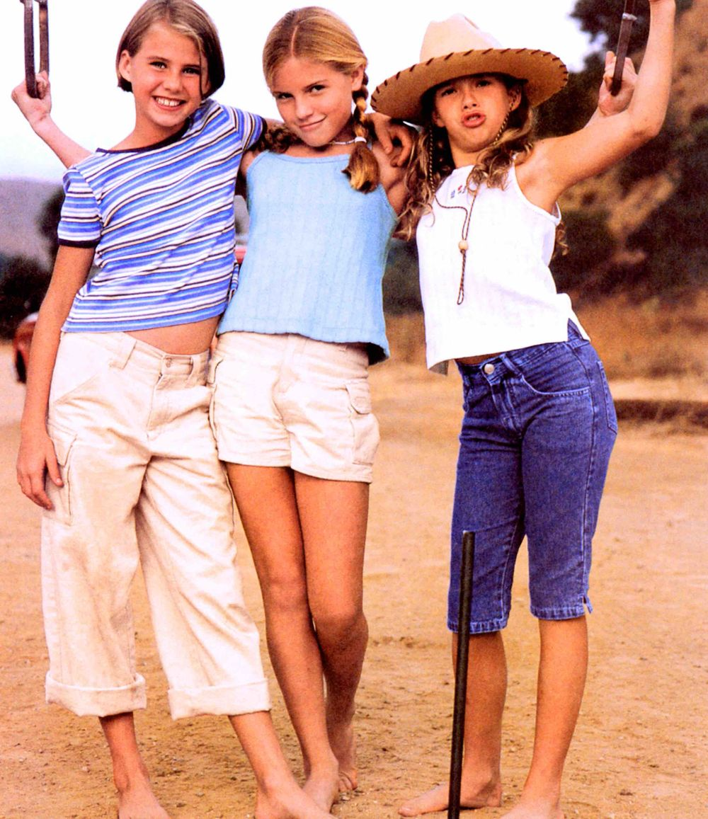 American Girl Girls on Ranch
