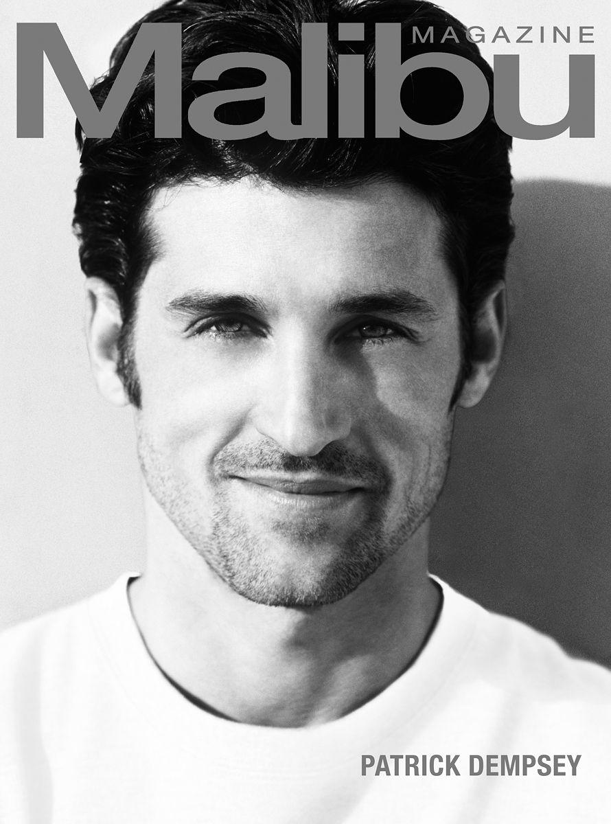 Patrick Dempsey Malibu Magazine Cover