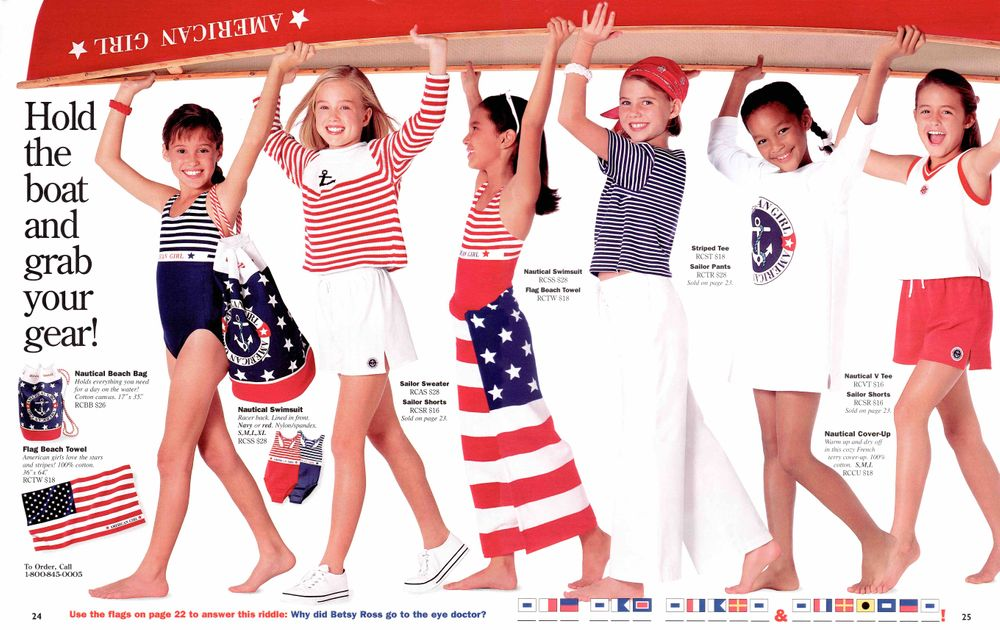 American Girl 4th of July