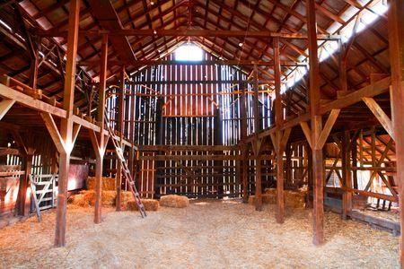Midwestern Barn Interior - Travel Photographer New York