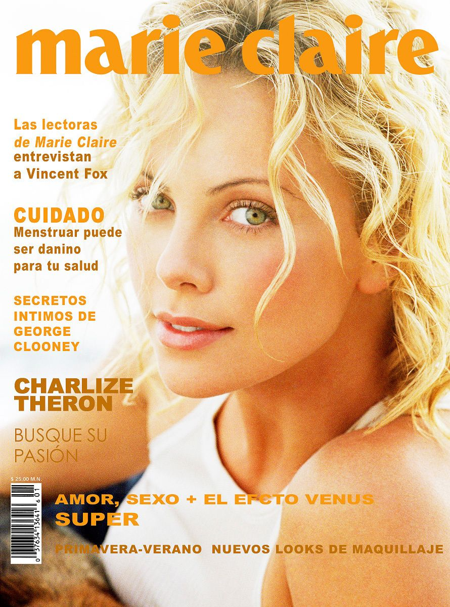Charlize Theron Marie Claire Magazine Cover