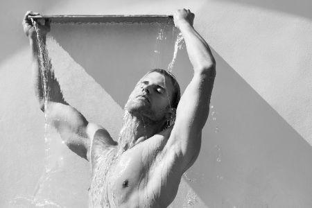 Man With Fountain - Fine Art Photographer Los Angeles