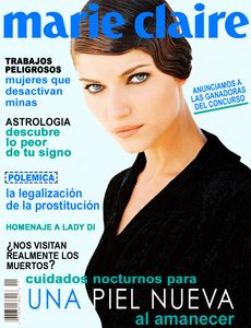 Ivana Milicevic Marie Claire Spanish Magazine Cover
