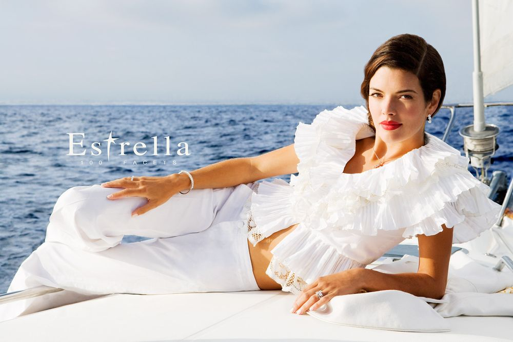Estrella Girl on Boat