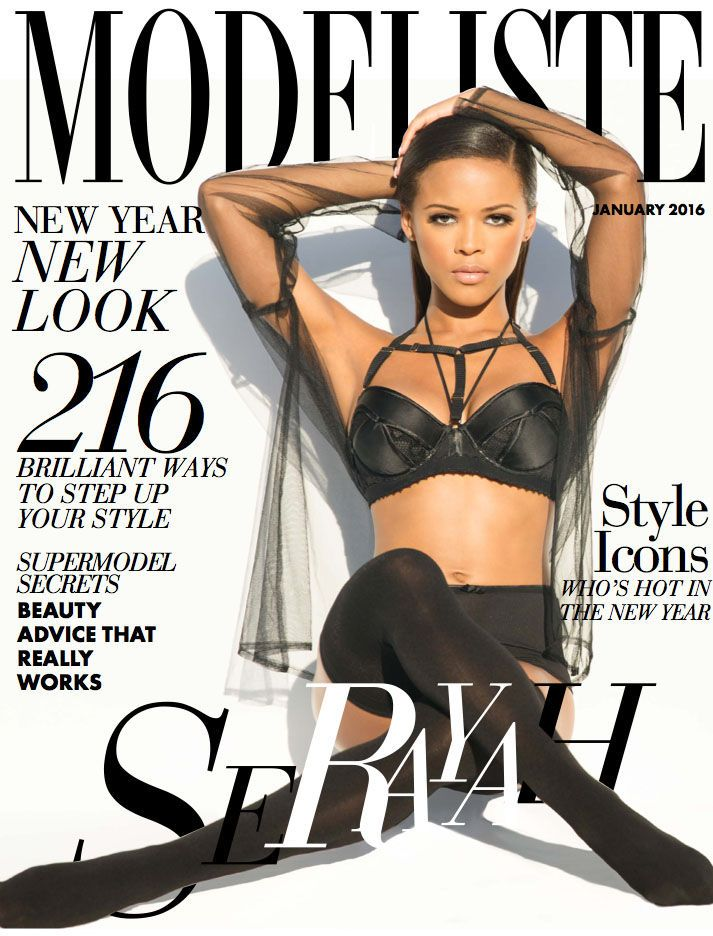 Serayah Modeliste Cover