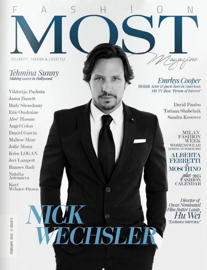 Nick Wechsler Most Magazine Cover