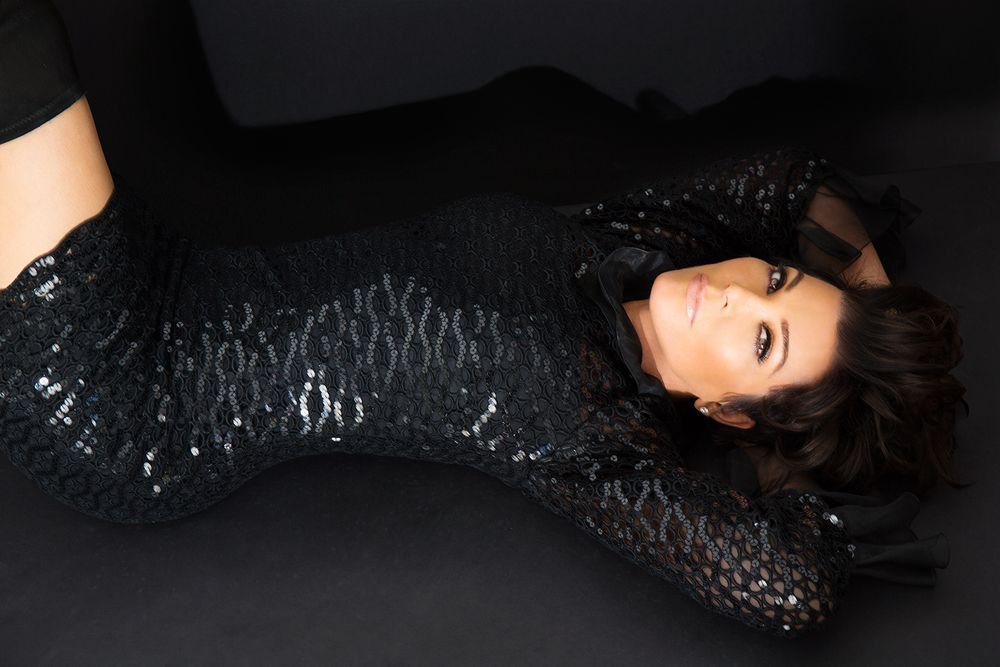 Kris Jenner Beverly Hills Lifestyle Laying Down