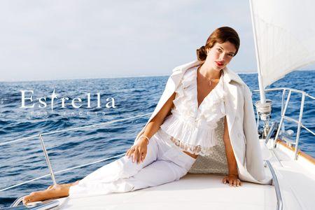 Estrella Girl on Boat - Los Angeles Fashion Photography