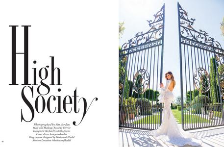 Shiva Safai Modeliste Magazine High Society