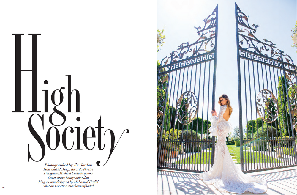 Shiva Safai Modeliste Magazine High Society