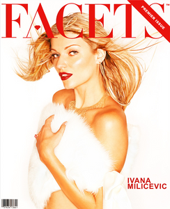 Ivana Milicevic Facets Magazine Cover
