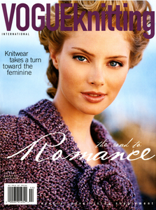 April Bowlby Vogue Knitting Magazine Cover
