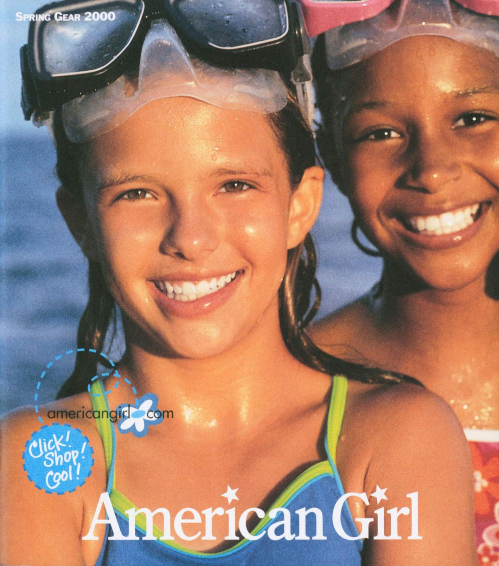 American Girl Girls at Beach