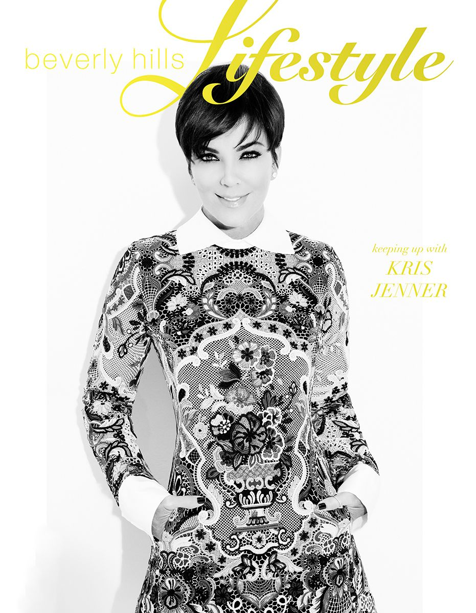 Kris Jenner Beverly Hills Lifestyle Cover
