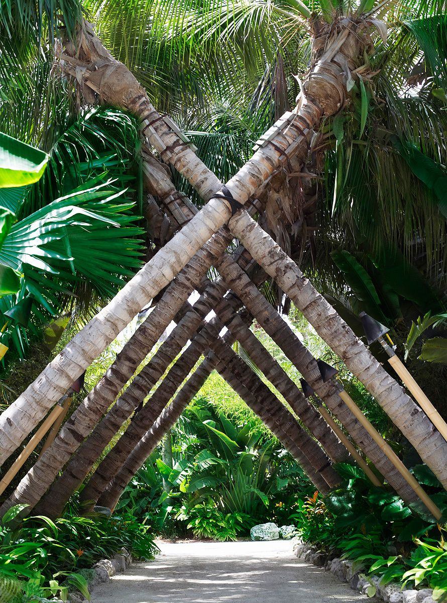 Crossed Palm Trees Islamorada