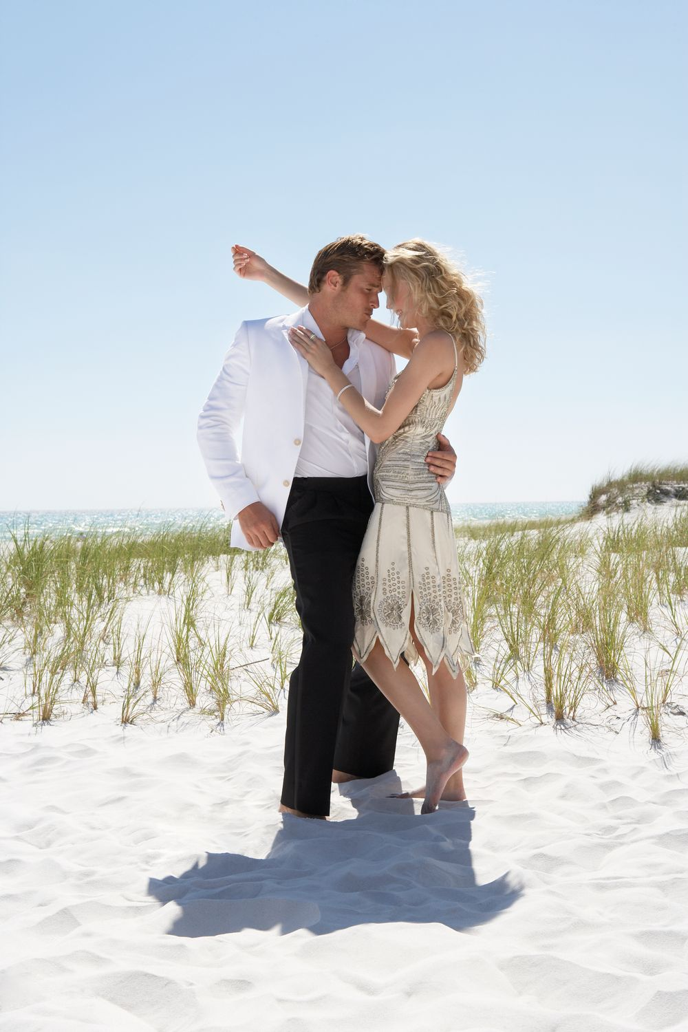 Florida Beach Wedding Couple