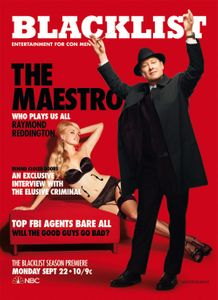 James Spader Blacklist Cover