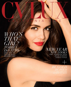 Torrey DeVitto CVLUX Magazine Cover