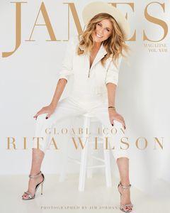 Rita Wilson - James Magazine