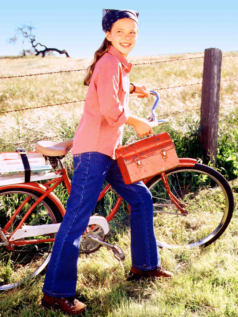 American Girl Girl with Bike