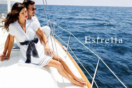 Estrella Couple on Boat - Los Angeles Fashion Photographer