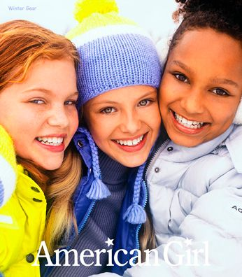 American Girl Girls in Snow