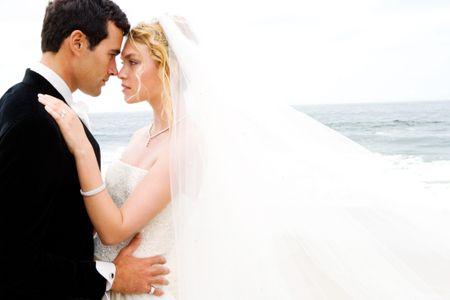 Wedding Couple Zuma Beach - Wedding Photographer In NYC