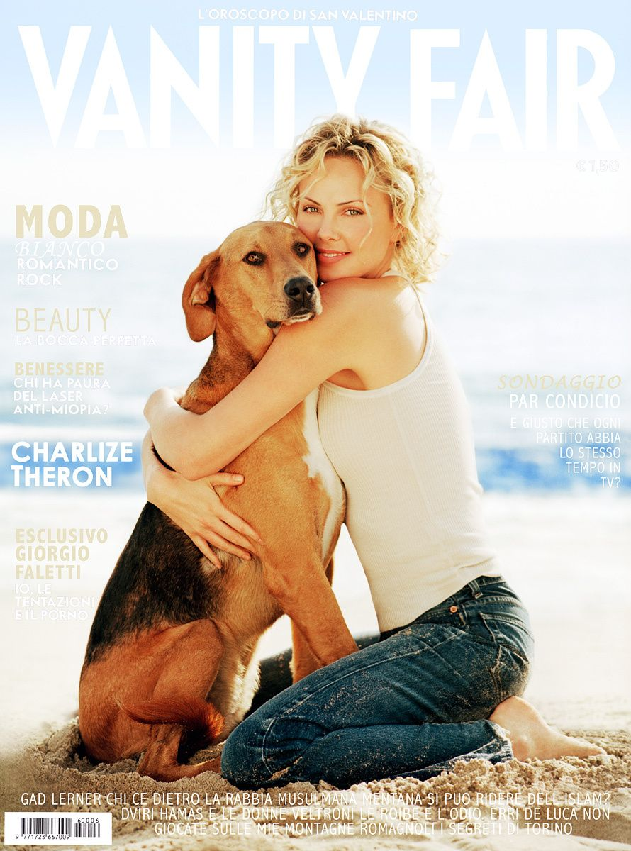 Charlize Theron Vanity Fair Cover