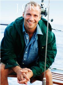J.Crew Man on Boat