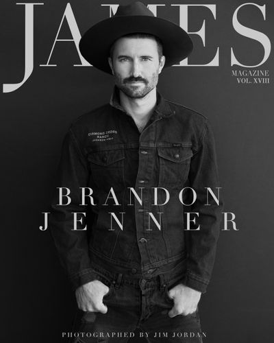 Brandon Jenner - James Magazine