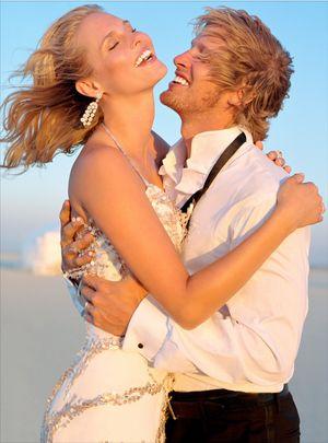 El Mirage Wedding Couple
