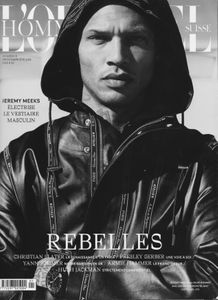 Jeremy Meeks L'Officiel Hommes Cover