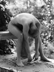 Man Stretching - Fine Art Photographer In Los Angeles