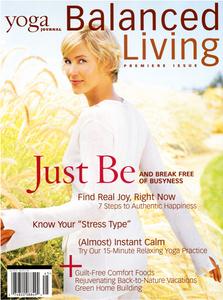 Yoga Journal Magazine Cover
