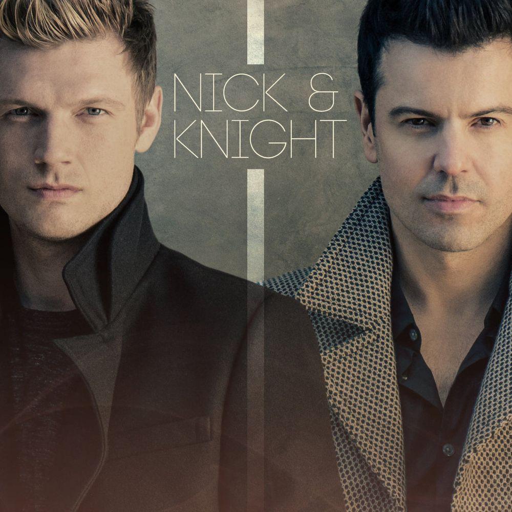 Nick Carter and Jordan Knight