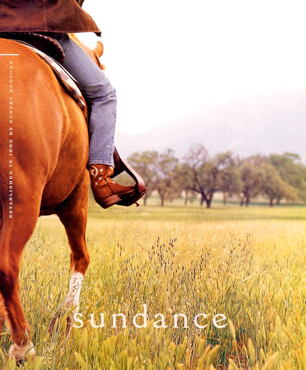Sundance Magazine Girl on Horse