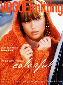 Vogue Knitting Magazine Cover