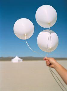 White Sands New Mexico, Balloons - Travel Photographer New York
