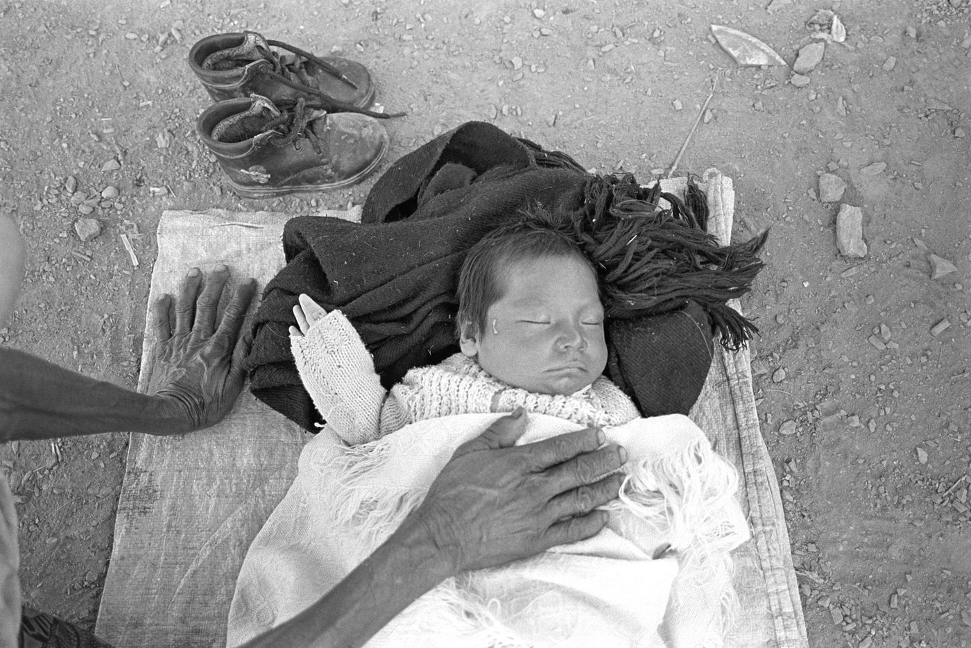 Sleeping baby / Bebe durmiendo