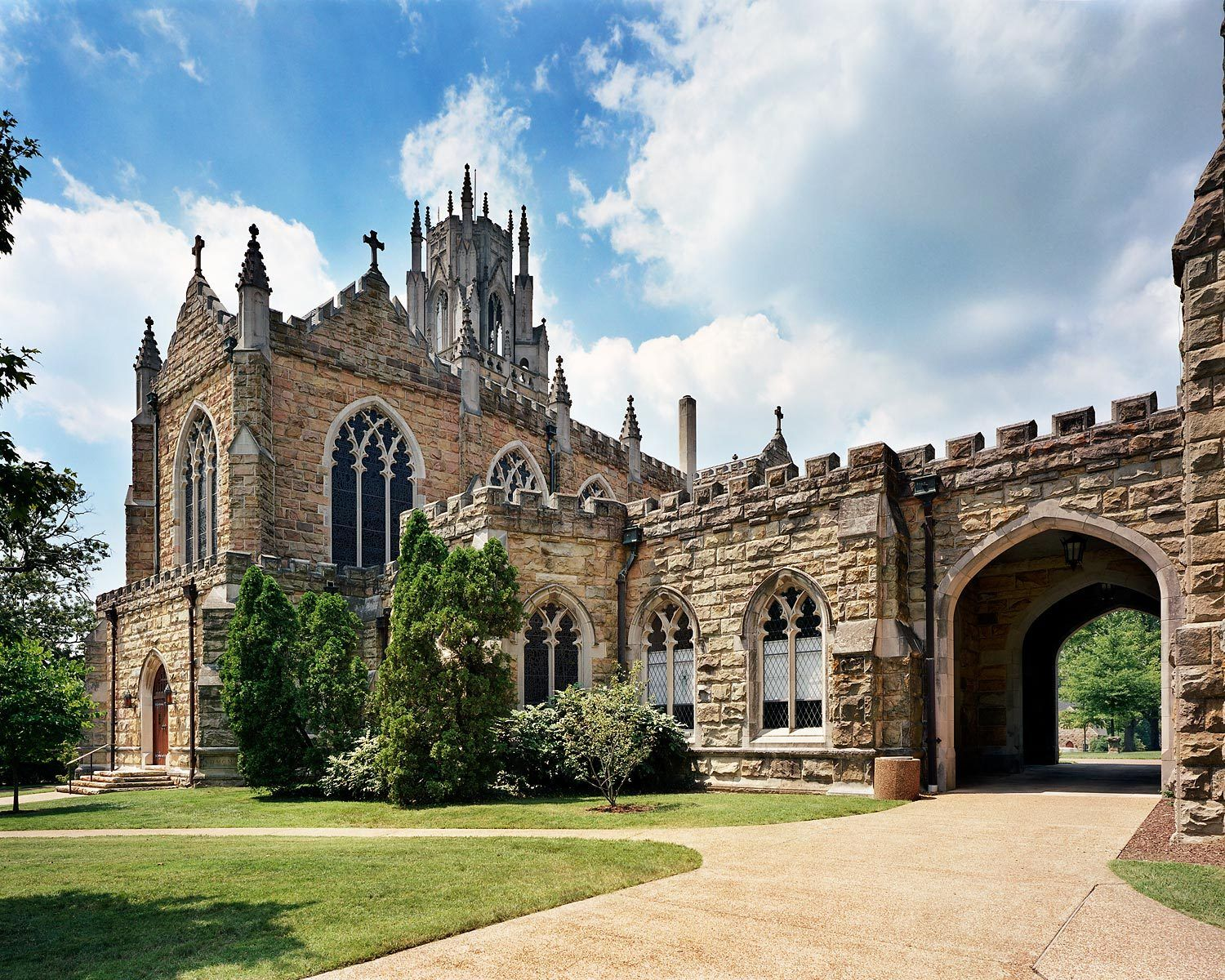 University of the South   St. Augustine's Chapel and Shapard Tower   Sewanee, TNRestoration General Contractor - Brice Building Company, LLC