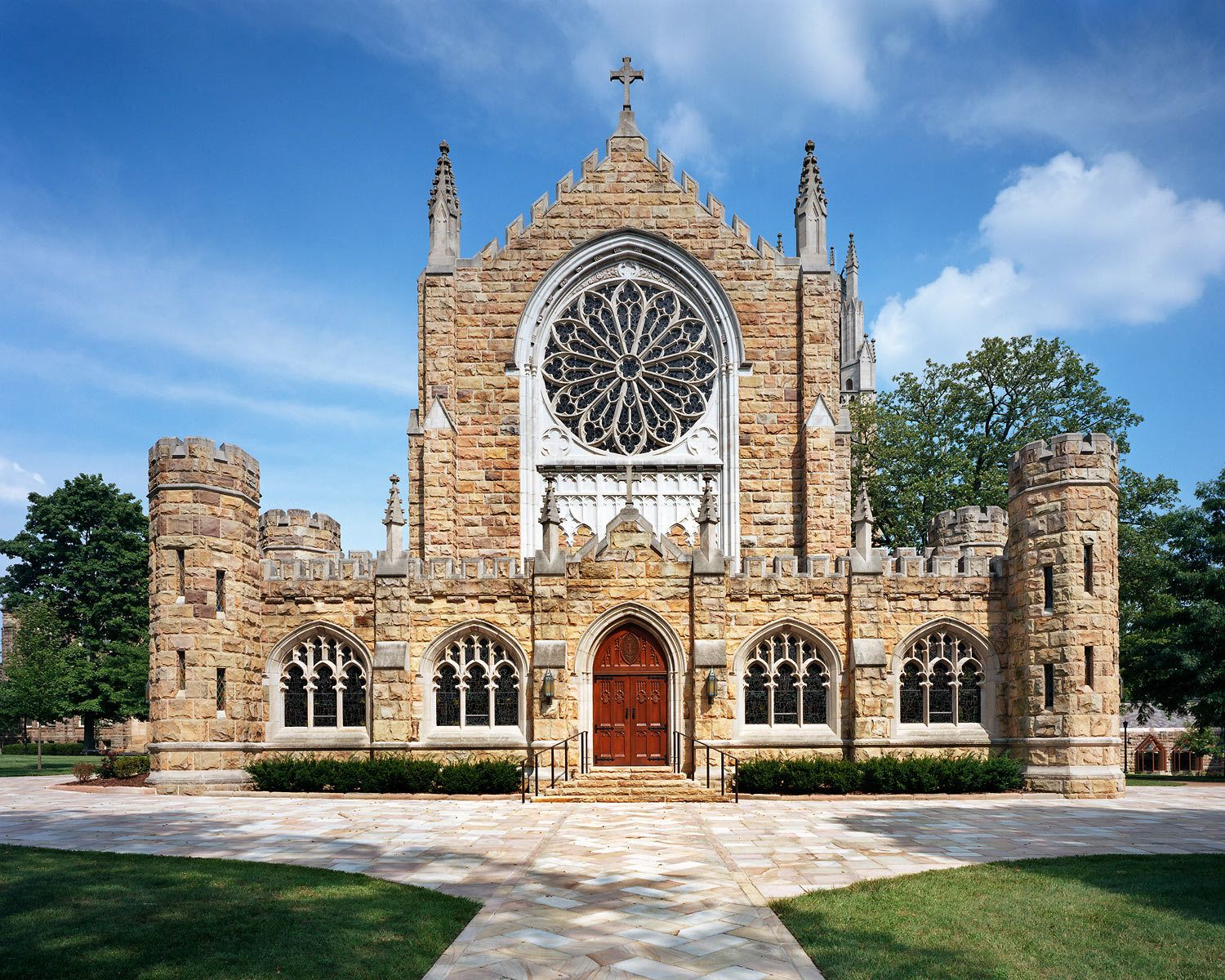 University of the South | All Saints' Chapel | Sewanee, TNRestoration General Contractor - Brice Building Company, LLC