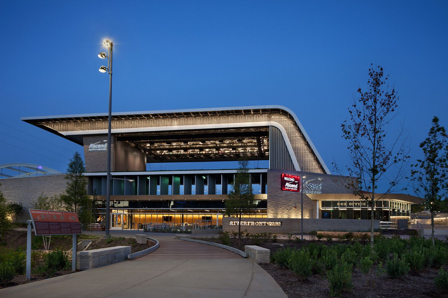 Nashville Riverfront Park and Ascend Amphitheater | Nashville, TNGeneral Contractor - Skanska