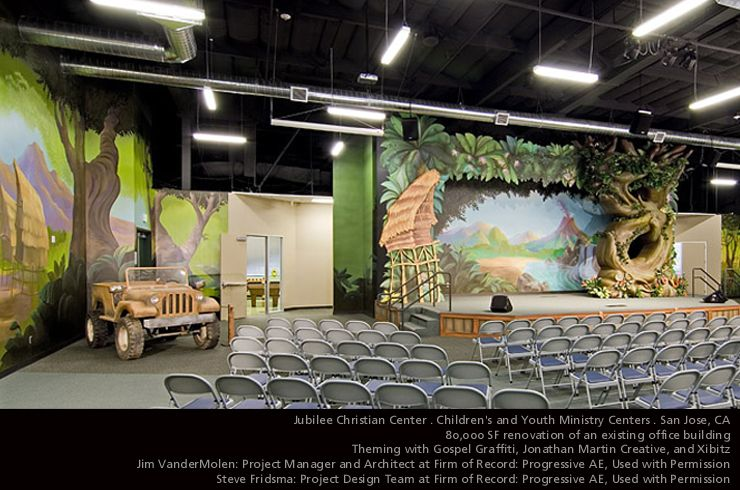 Jubilee Christian Center . San Jose, CA . 2006Praise Kids Center