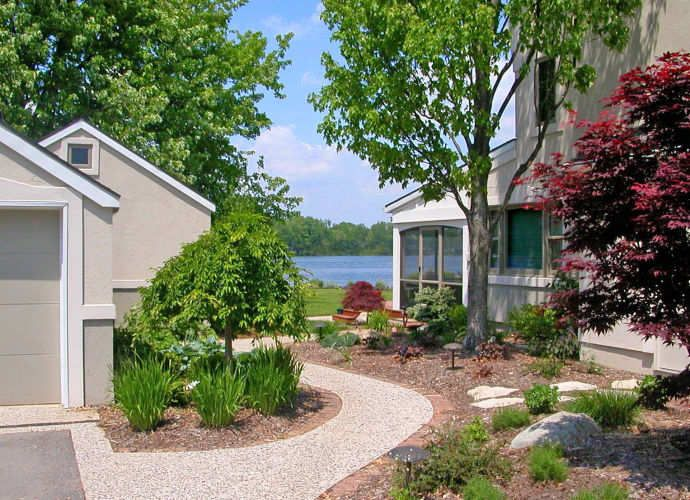 Griep-DeJong House . Crockery Lake, MI . 2007Elevate Studio: Architect of Record