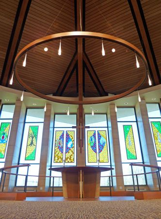 Christ Lutheran Church . Valparaiso, IN . 2010Elevate Studio: Architect of Record