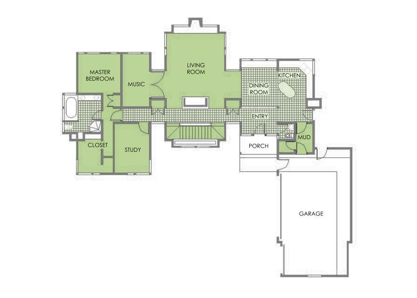 Harris House Floor Plan . Elevate Studio: Architect of Record.jpg