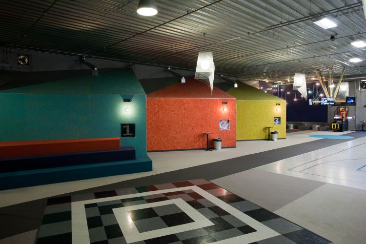 3 Mile Project (Teen Center) . Walker, MI . 2010Elevate Studio: Architect of Record
