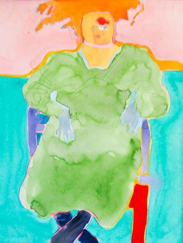 """#1512 """"Green Dress"""""""