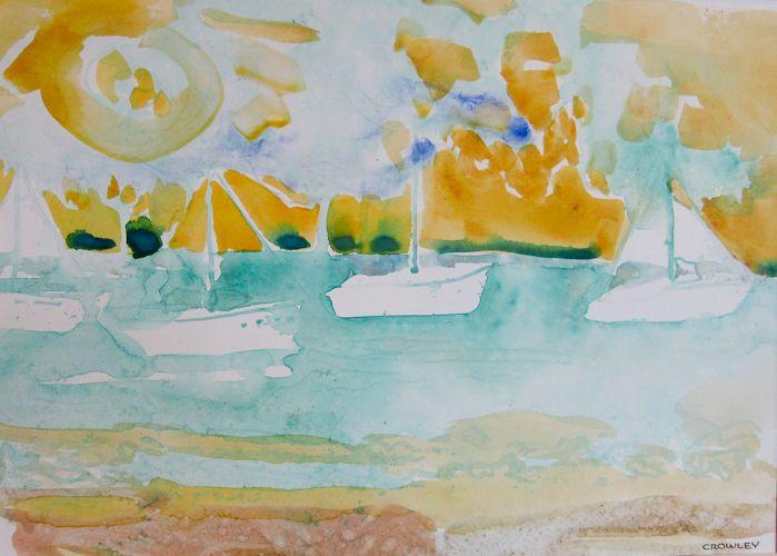 "#1532 ""Cooper Island Sunset, #2"""